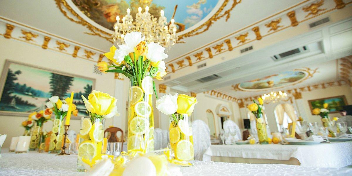 Оформление свадебного зала и выездные церемонии