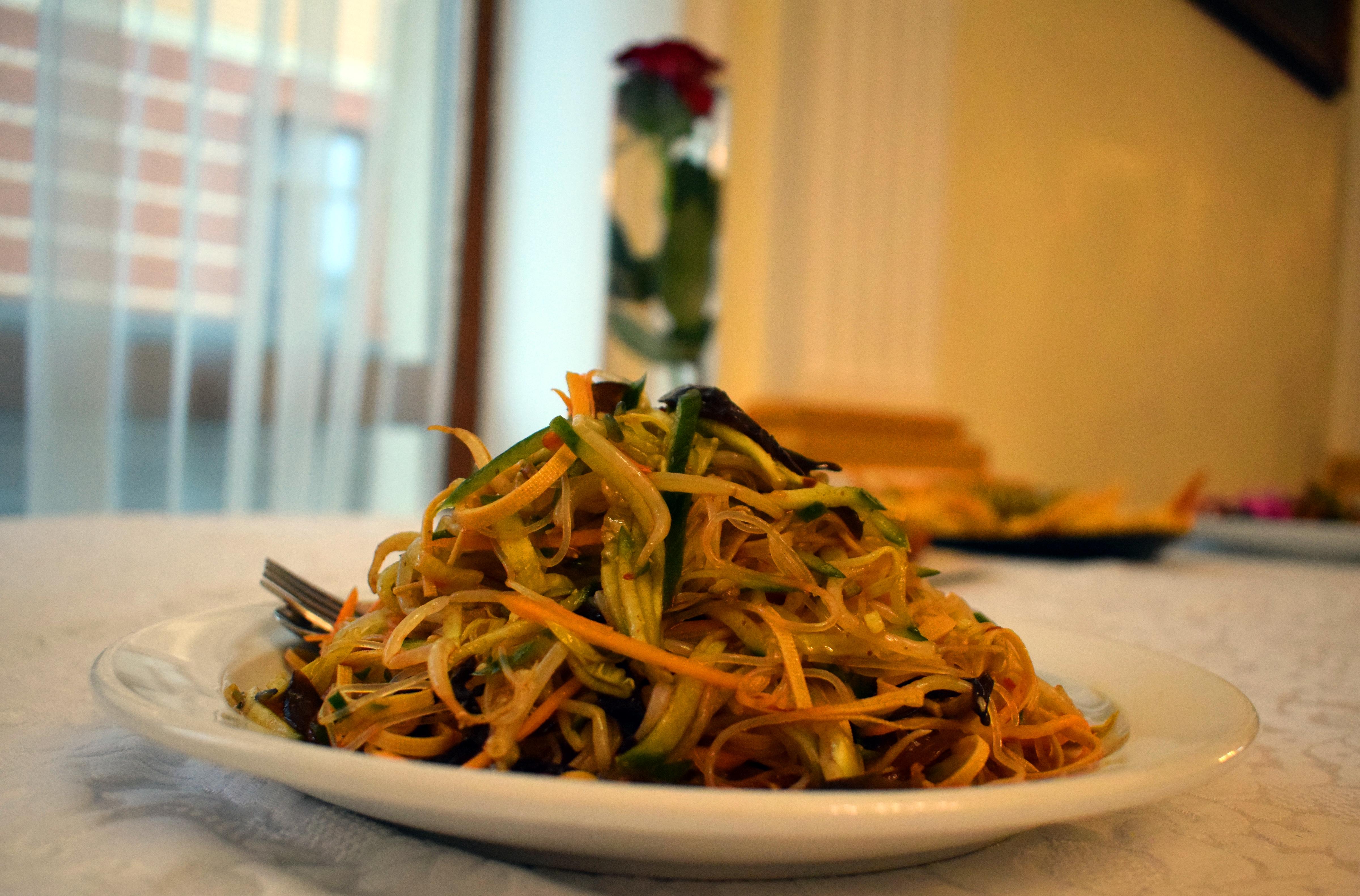 Меню китайської кухні від Сюй Мінміна